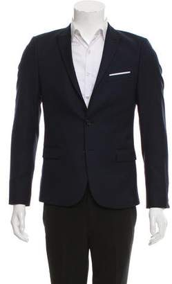 The Kooples Wool Two-Button Blazer