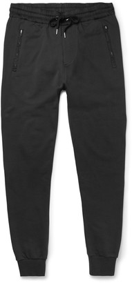 Burberry Brit Skinny-Fit Cotton-Jersey Sweatpants $295 thestylecure.com