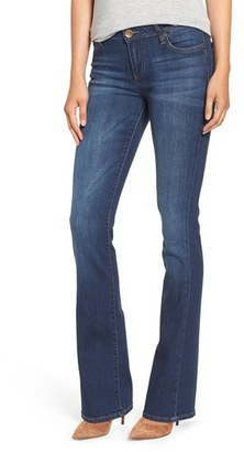 Women's Kut From The Kloth 'Natalie' Stretch Curvy Bootcut Jeans $94 thestylecure.com
