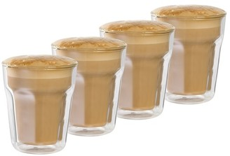 Baccarat Facet 8 oz/236ml Double Wall Latte Glass - Set of 4