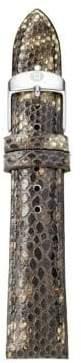 Michele Urban Vintage Snakeskin Watch Strap/16MM