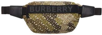 Burberry Green Medium Sonny Pouch