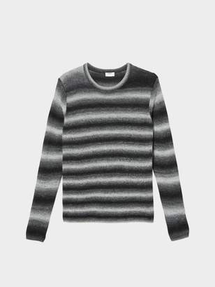 DKNY Space Dye Striped Sweater