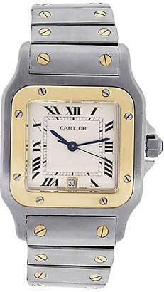 One Kings Lane Vintage Cartier Santos Galbee Mens Watch - Raymond Lee Jewelers