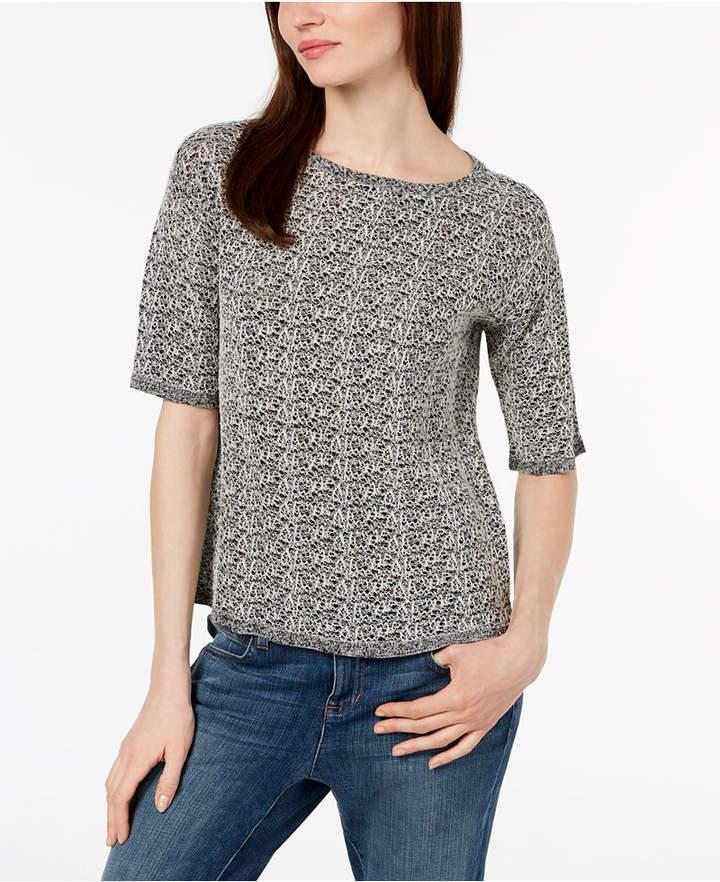 Eileen Fisher Organic Linen Textured Sweater