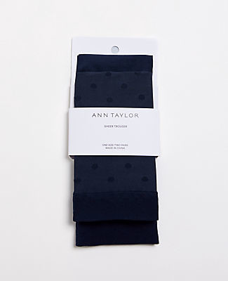 Ann Taylor Refined Trouser Socks
