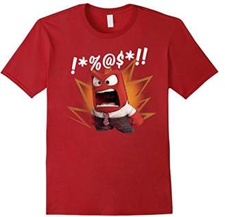 Disney Inside Out Anger Symbols Graphic T-Shirt