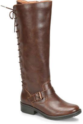 EuroSoft Womens Selden Riding Boots Stacked Heel Zip