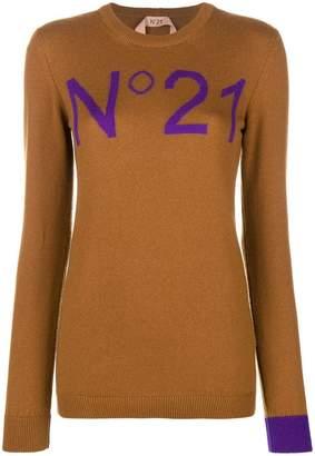 No.21 cashmere sweatshirt