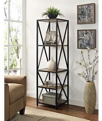 Trent Austin Design Augustus X-Frame Etagere Bookcase