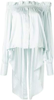 Faith Connexion striped tail top