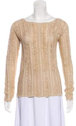 Ralph Lauren Black Label Silk Blend Sweater