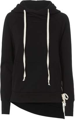 NSF Enzo Lace-Up Side Sweatshirt