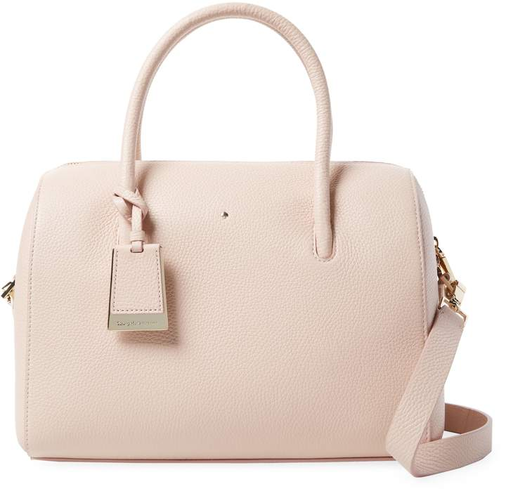 Kate Spade New York Women's Mega Lane Leather Satchel