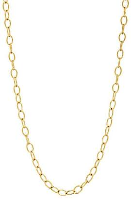 Cathy Waterman Women's Tiny Lacy Chain Necklace - Gold