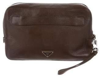 Prada Leather Travel Organizer