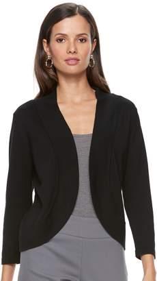 Dana Buchman Women's Jersey Stitch Bolero Jacket