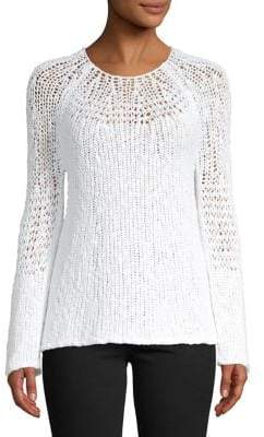 Theory Roundneck Cotton Sweater