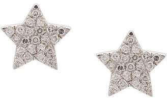 Ef Collection star stud earrings