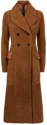 Burberry Shearling Teddy Coat