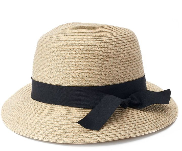 SONOMA Goods for LifeTM Woven Straw Cloche Hat