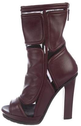 Versus Mid-Calf Leather Boots