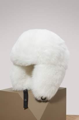 Moncler Hat with fur pompom
