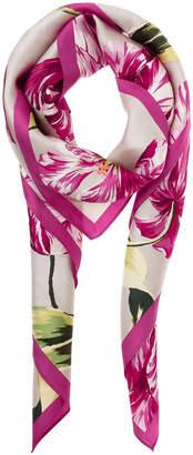 Buckingham Tulips Silk Square EN0183