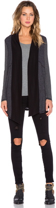 Splendid Heathered Thermal Cardigan $128 thestylecure.com