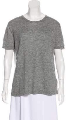 Tomas Maier Cashmere Short Sleeve Sweater