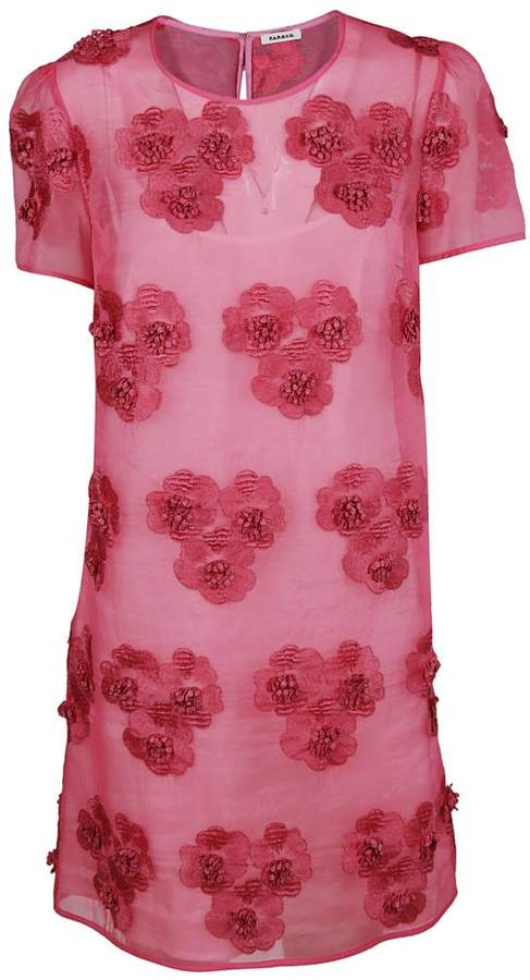 Floral Embellished Dress