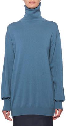 The Row Janillen Cashmere Turtleneck Oversized Sweater