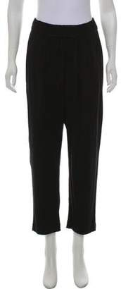 Raquel Allegra Cropped High-Rise Pants
