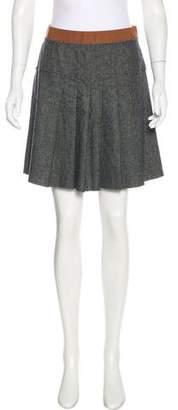 Dolce & Gabbana Pleated Flare Skirt