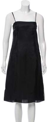 Prada Sleeveless Silk Dress w/ Tags