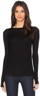 Michael Lauren Everett Long Sleeve Thumbhole Tee