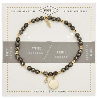 Fossil Pyrite Bracelet