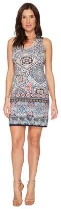 Karen Kane Tuscan Tile Sheath Dress Women's Dress