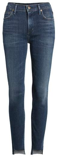 Citizens of Humanity Rocket Step Hem Skinny Jeans