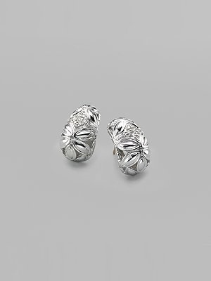 John Hardy Kawung Diamond Earrings