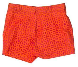 Ter Et Bantine Mid-Rise Silk Shorts