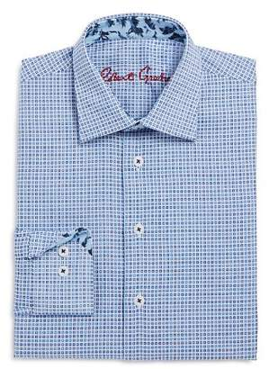 Robert Graham Boys' Square Geo Print Dress Shirt - Big Kid