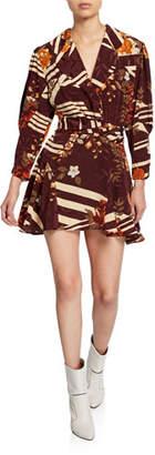 Dodo Bar Or Laura Floral Silk Mini Dress