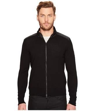 Belstaff Kelby Fine Gauge Merino Full Zip Sweater