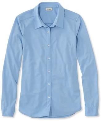 L.L. Bean L.L.Bean Shrink-Free Knit Shirt