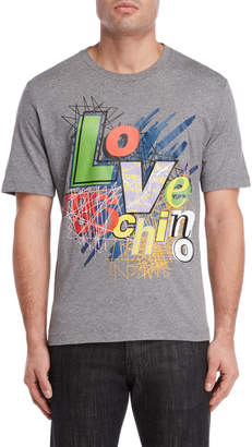 Love Moschino Scribble Logo Tee