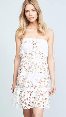 Milly Stars Embroidery Becca Cover Up