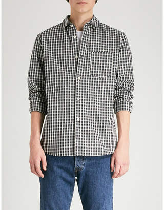A.P.C. Victor regular-fit checked cotton shirt