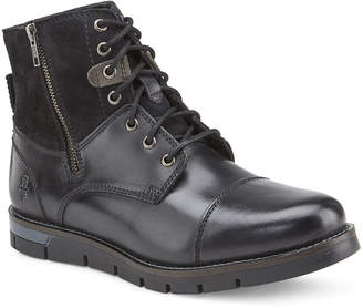 Reserved Footwear Men's Rossmore Two-Tone Mixed Leather Boots
