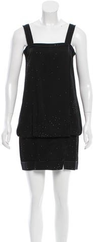 Marc Jacobs Marc Jacobs Embellished Mini Dress